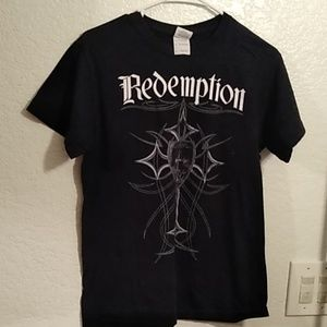 Black redemption shirt size small